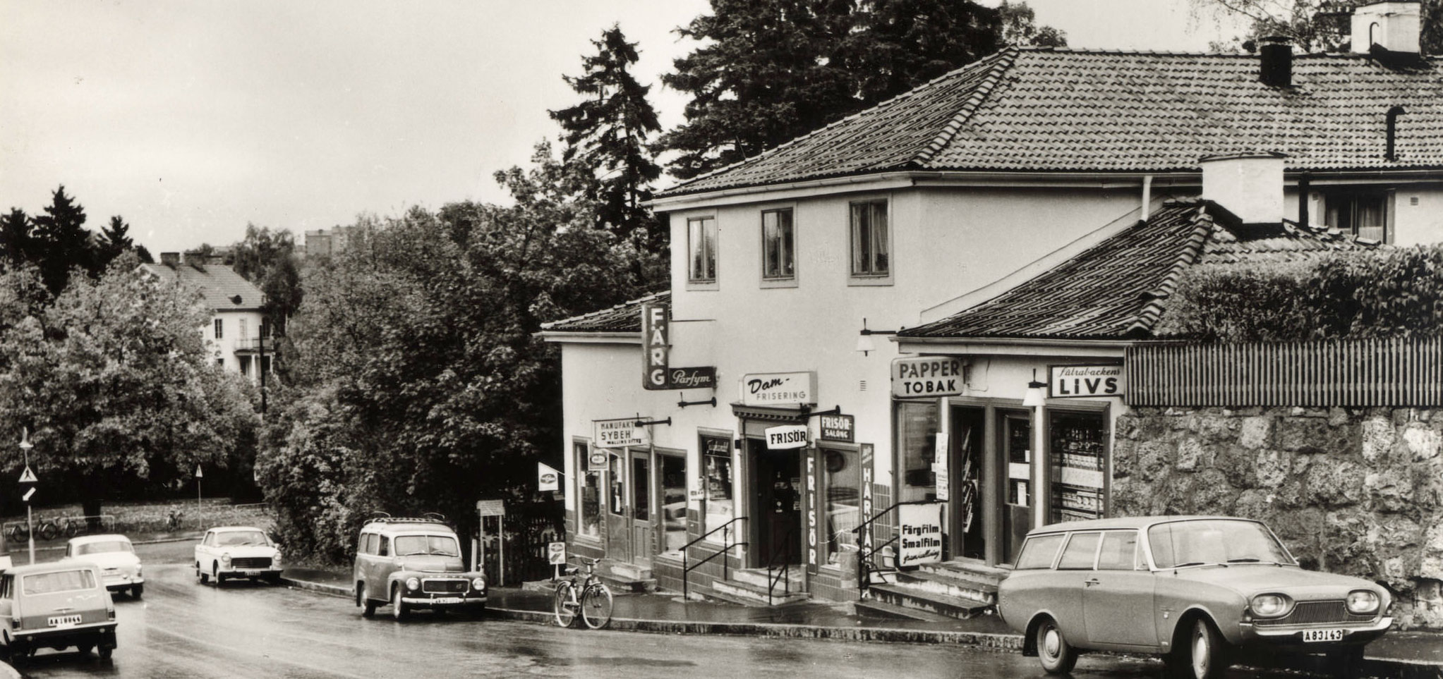 Butiker i backen Mälarhöjdsvägen